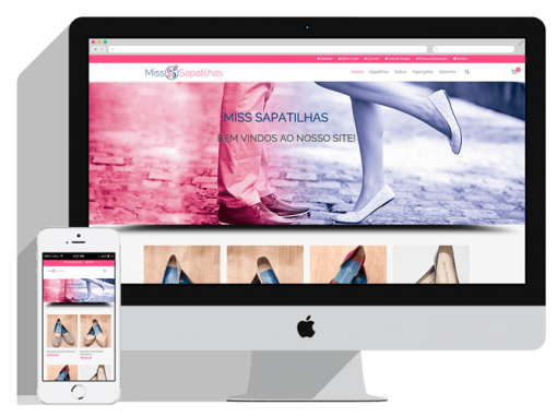 E-Commerce da Miss Sapatilhas